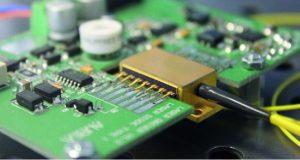 conception et réalisation de cartes de contrôle de diodes laser